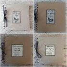 Personalised Hen Wedding Guest Book East of India Grey Brown Celebration Gift