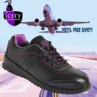 Ladies City Knights SS620CM Safety Work Shoes Trainers Metal Free composite  3-8