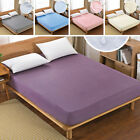 Anti Allergy Household Decor Mattress Cover Sheet Water Resi