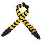 Levys MPD2-108 Polyester Guitar Strap, Sublimation Yellow (NEW)