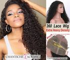 Best Curly Human Hair Wigs Brazilian Remy Hair 360 Lace Frontal Wig Pre Plucked