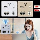 Wireless Wall Socket 3G Wifi AP Router Panel USB Charger AC 5V 2A LAN / RJ11 WI1