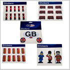 British GB English Red Bus phone post box beefeater guard policeman Stickers
