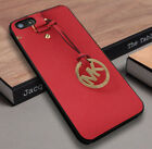 Michael kors34B1 red fit for Apple iPhone 5 6 7 8 X samsung cover case