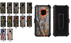 Samsung Galaxy S9 Plus Case Cover (Belt Clip fits Otterbox Defender) Camouflage