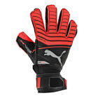 PUMA Jr One Protect 18.3 Goalkeeper Gloves Red Blast/Black/Silver 041443 23