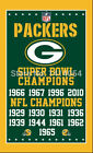 Green Bay Packers super bowl champions Vertical Flag 3X5FT Banner 100DPolyester