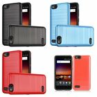 Shockproof Luxury Metalic Case For ZTE Avid 4/Blade Vantage/Fanfare/Tempo X