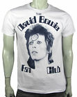 Punk Glam Rock David Bowie  Fan club Ziggy Stardust Aladdin Sane tee s-4xl