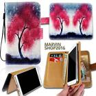 Leather Wallet Card Stand Flip Case Cover For Various Huawei Ascend Phones