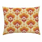 Ombre Retro Sixties Wallpaper Pillow Sham by Roostery