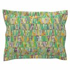Mardi Gras Carnival Carnivale Fat Tuesday Mask Mardis Pillow Sham by Roostery