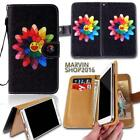 Leather Wallet Card Stand Flip Case Cover For Various Motorola SmartPhones