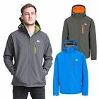 Trespass Nider Mens Windproof Softshell Jacket Breathable Hooded Hiking Coat