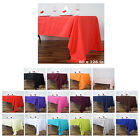 60x126 Polyester Rectangle Tablecloths