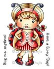 RETIRED MARCI STAMPS-La-La Land Crafts Cling Rubber Stamp-Stamping Craft