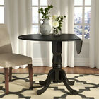 extendable dining tables - Small Dining Table Drop Leaf Round Kitchen Farmhouse Extendable Solid Wood