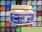 """BlackBoard Paint Chalk Furniture  Pint """"Great Covering or Choose from 44 colors"""