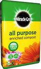 Miracle-Gro All Purpose Enriched Compost Pots Tubs Hanging Baskets 20L 40L 50L