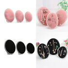 Velvet Sponge Jewelry Display Stand Large Middle Small Oval Organiser Holders