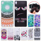 Colored Crystal Slim Soft Silicone TPU Case Rear Cover For Sony Xperia XA1 Ultra