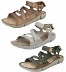Ladies Clarks Tri Sienna Casual Leather Sporty Sandals - D Fitting