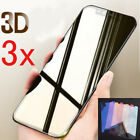 3Pcs For iPhone 8 7 Plus X 10 Tempered Glass 3D Mirror Magic Color Screen HOT