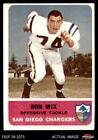 1962 Fleer #82 Ron Mix Chargers VG/EX $17.5 USD on eBay
