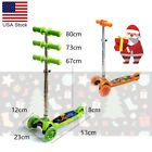 LIYU Mini Push Scooter 3 Flashing Wheels T-Bar Adjustable For Kids Freestyle USA