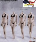 TBLeague Phicen 1/6 Female SEAMLESS body w/ Stainless Steel Skeleton in PALE