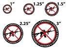 """ENOUGH IS ENOUGH ANTI GUN PIN BUTTONS 1"""", 1.25"""", 1.5"""", 2.25"""", 3"""" MARCH FOR LIVES"""