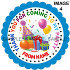 Personalised Balloon stickers For Sweet Cones etc, 3 Sizes - Ref MX1BA01-01