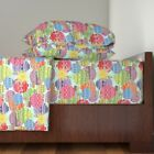 Hot Air Balloon Aviation Nursery Baby Organic Sateen Sheet Set by Roostery