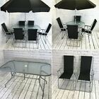Garden Furniture Table And Chair Metal Patio Sets 6 And 8 Piece