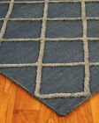 Natural Area Rugs City  Blue Wool Multi Size Area Rug