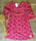 New Odd Molly United Smiles Cerise Dress 1 (Small) and 3 (Large)