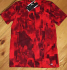 Under Armour red patterned shirt NWT UPICK boy S M L XL