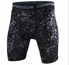 New Sports Apparel Skin Tights Compression Base Men's Running Gym Shorts Lot