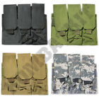 Triple Rifle Mag Magazine Ammo Pouch Army Molle Modular System Camouflage Choice