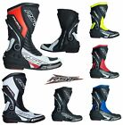 RST Motorbike Motorcycle Sport Track Tractech Evo 3 CE Approved Boots
