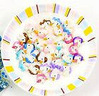 DIY 5/10/30 PACK Unicorn Flatback Resin Cabochon Scrapbooking/Crafts /Toy/Gift