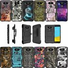 For LG G5 | G5 H850 Dual Layer Bumper Kickstand And Holster Combo Case - Camo
