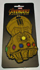Licensed Maevel Infinity War Infinity Gauntlet Rubber Luggage Tag