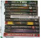 ps3 beta games - PS3 Game Lot - Pick & Choose -  Army of Two,Saints Row, Dishonored, Battlefield3