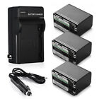 BP-970 BP-970G Battery & Charger For Canon BP-915 BP945 GL1 GL2 XL2 XL H1S G1