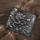 Men Genuine Leather Wallet Thin Coin Credit Card Cash Holder ID Cover Purse New
