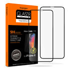 [2-PK] SPIGEN iPhone X Screen Protector [Glass FC] Tempered Glass Case Friendly