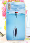 Bass Fishing Baits Lures Hook Tackle Spinning Rods Hard Cover Case For iPhone 10