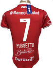 HURACAN AWAY SOCCER JERSEY 2018 RED PUSSETTO 7 image