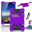 "Shockproof Silicone Stand Cover Case For Zeki 7"" / 8"" Tablet + Stylus"